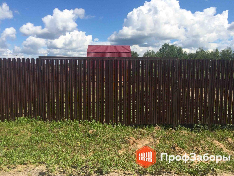 Заборы Из евроштакетника - Одинцовский район. Фото 1