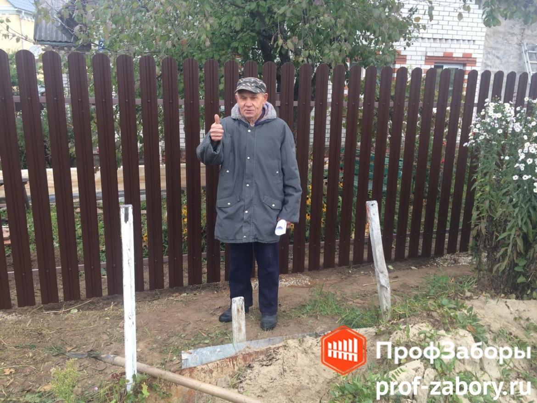 Заборы Из евроштакетника - Городской округ Подольск. Фото 1