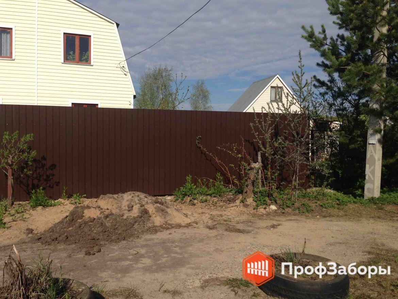 Заборы Из профнастила  - Одинцовский район. Фото 1