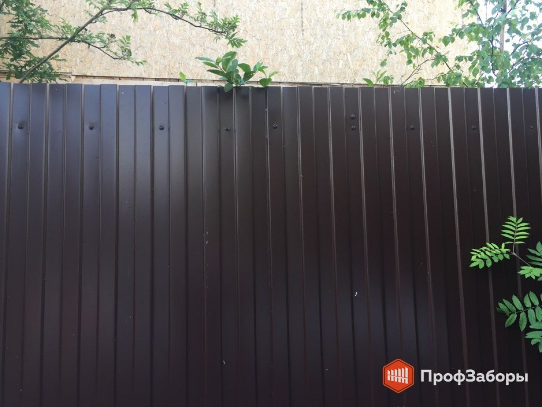 Заборы Из профнастила  - Город Старая Купавна. Фото 1