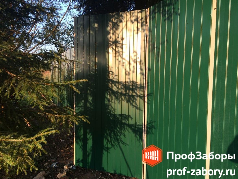 Заборы Из профнастила  - Посёлок городского типа Софрино. Фото 1