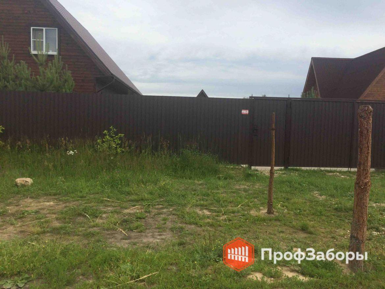 Заборы Из профнастила  - Городской округ Черноголовка. Фото 1