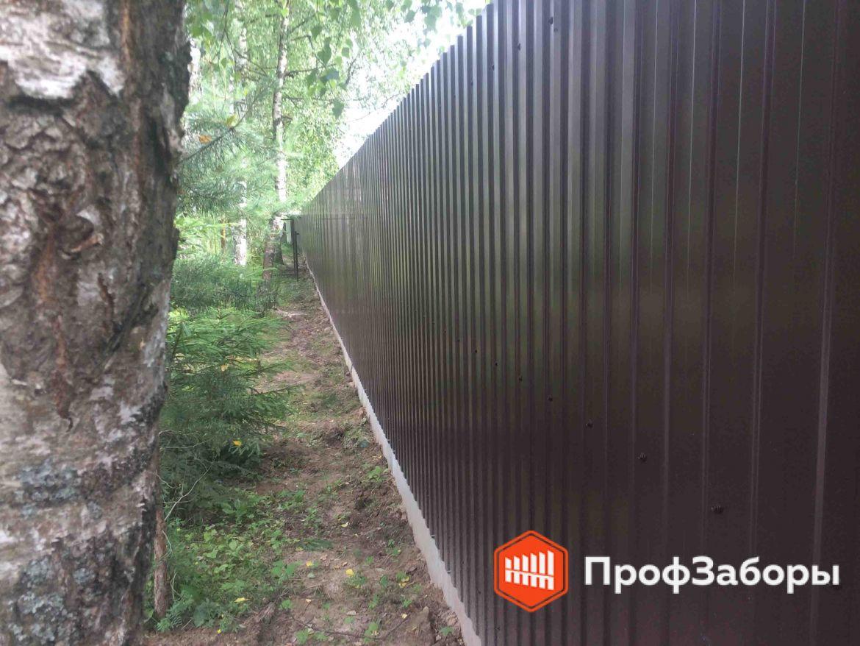 Заборы Из профнастила  - Городской округ Луховицы. Фото 1