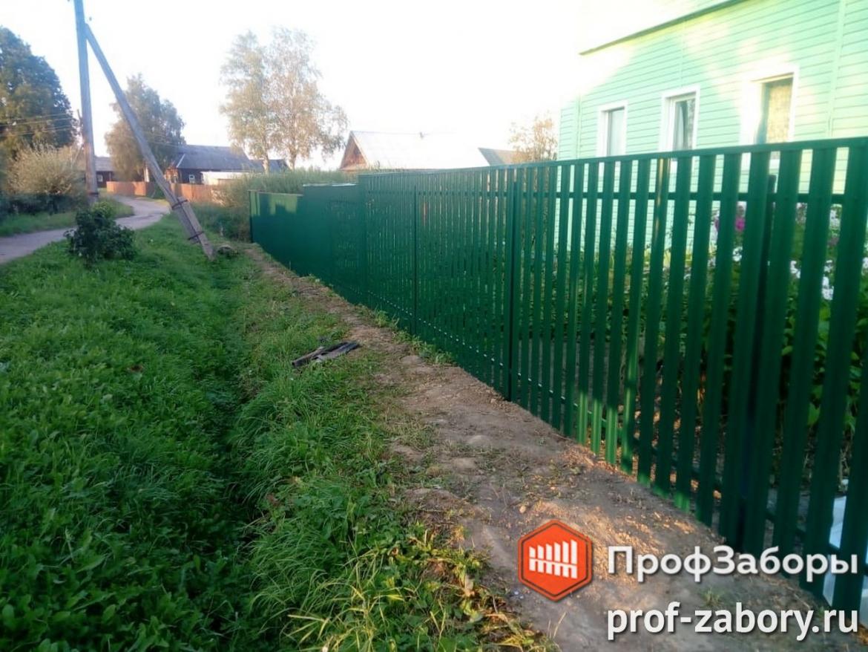 Заборы Комбинированный - Город Апрелевка. Фото 1