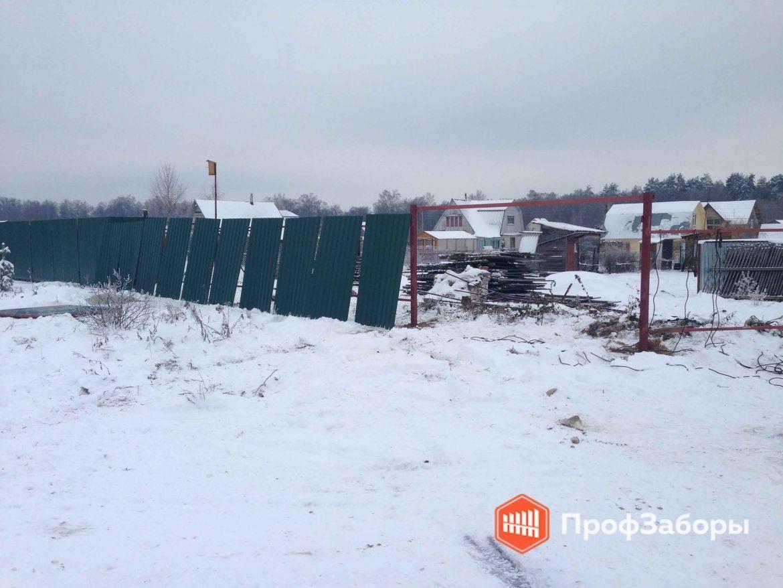 Заборы Из профнастила  - Городской округ Клин. Фото 1