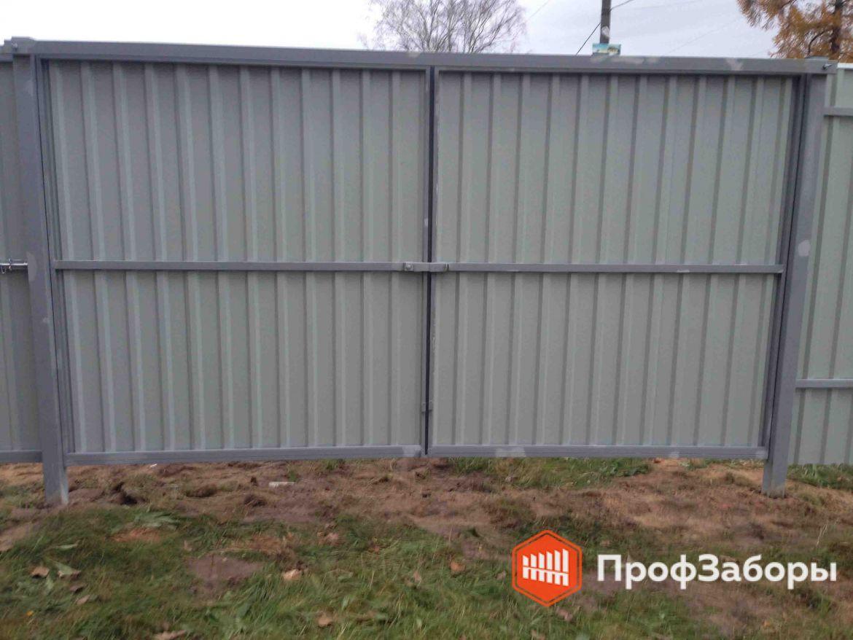 Заборы Из профнастила  - Солнечногорский район. Фото 1