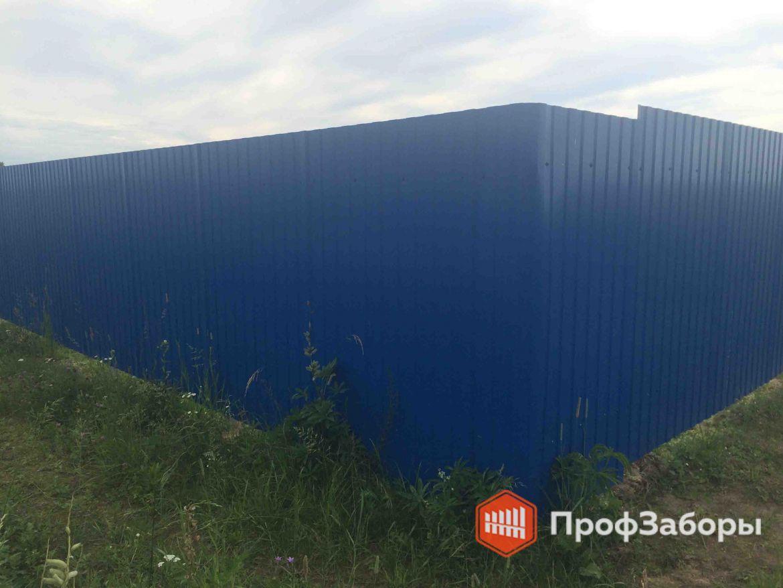 Заборы Из профнастила  - Городской округ Зарайск. Фото 1