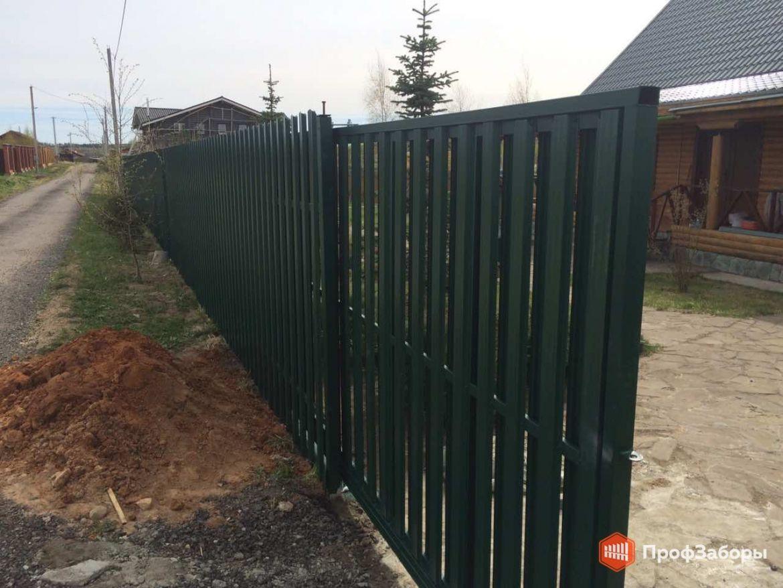 Заборы Из евроштакетника - Раменский район. Фото 1