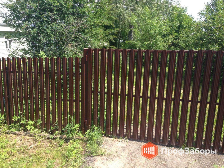 Заборы Из евроштакетника - Рязанская область. Фото 1